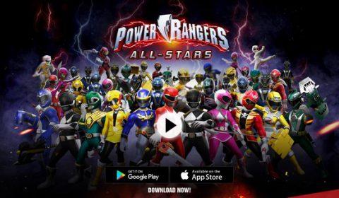 เกมใหม่ Power Rangers: All-Stars ขบวนการ 5 สี พร้อมออกรบบนมือถือแล้ววันนี้