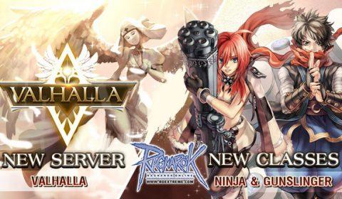 Ragnarok Extreme เปิดเซิร์ฟเวอร์ใหม่ Valhalla พร้อม 2 อาชีพใหม่ Ninja & Gunslinger แล้ววันนี้