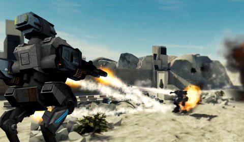[รีวิวเกม]ศึกหุ่นยนต์สะท้านฟ้า Mech Battle ลงสโตร์ไทยแล้ว!!