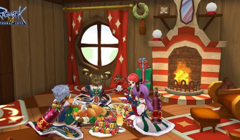 ต้นคริสต์มาส ใน Ragnarok M กำลังเจิดจรัสสดใสในเอเชียตะวันออกเฉียงใต้!!