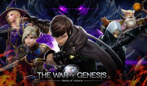 (รีวิวเกมมือถือ) The War of Genesis: Battle of Antaria มหากาพย์เกม MMO สุดมันส์!