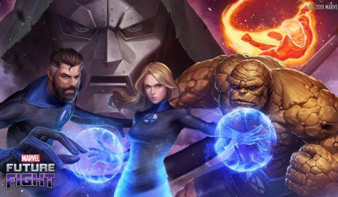 Fantastic Four มาเยือน MARVEL Future Fight แล้ว ครอบครัวกลุ่มแรกของ MARVEL พาเหล่าเพื่อนพ้องและศัตรูมาพร้อมกับอัปเดตใหม่