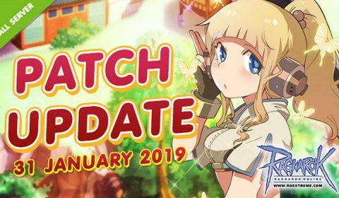ROEXE เปิดรายละเอียดอัพเดทแพทช์ใหม่ Patch Update ประจำวันที่ 31 มกราคม 2562