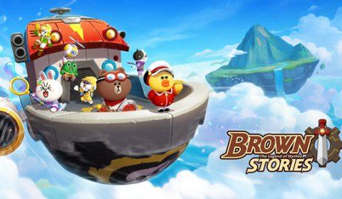 LINE BROWN STORIES ร่วมผจญภัยไปกับบราวน์ เกมใหม่จาก LINE เปิดลงทะเบียนล่วงหน้าแล้ววันนี้!