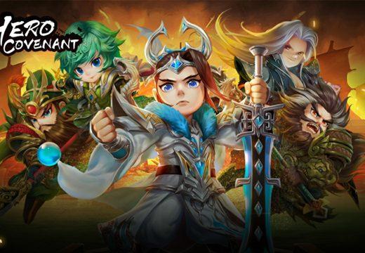(รีวิวเกมมือถือ) Hero Covenant ย้อนเวลายึดอาณาจักรสามก๊ก กับเกมเทิร์นเบสน่ารักสุดมันส์
