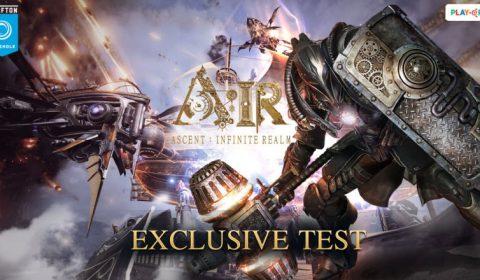บรรยากาศงาน A:IR Exclusive Testพร้อมประกาศเปิด Beta Test 25 เมษายนนี้ ที่แรกของโลก!!