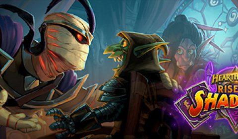 ก้าวเข้าสู่ด้านมืดและทำชั่วให้ได้ดีใน Rise of Shadows™ ส่วนเสริมใหม่ของ HEARTHSTONE™ ที่เปิดให้เล่นในวันที่ 10 เมษายน