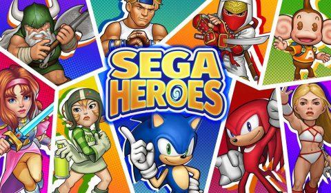 [รีวิวเกมมือถือ] พบกับการรวมพลังครั้งใหญ่ของค่ายเซก้า SEGA Heroes