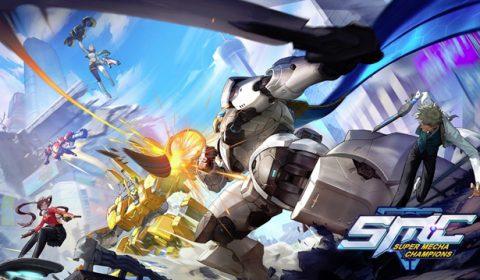 (รีวิวเกมมือถือ) Super Mecha Champions เกมแบทเทิลรอยัลที่เรียกหุ่นยนต์ขี่สู้กันได้!