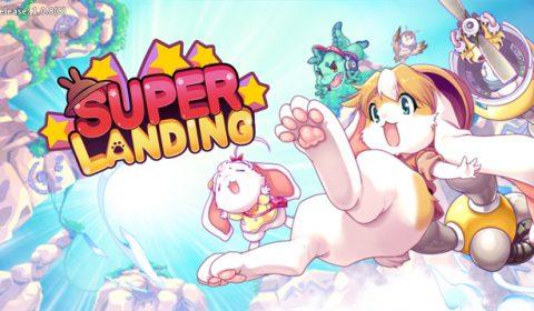 (รีวิวเกมมือถือ) Super Landing เกมสไตล์อินดี้ภาพน่ารักสุดท้าทาย (และหัวร้อน)