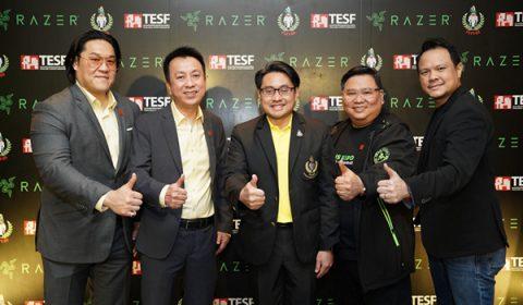RAZER พันธมิตรหลักอย่างเป็นทางการงานมหกรรมซีเกมส์ ฟิลิปปินส์ Razer ร่วมสนับสนุนสมาคมกีฬาอีสปอร์ตแห่งประเทศไทยในการแข่งซีเกมส์ 2019