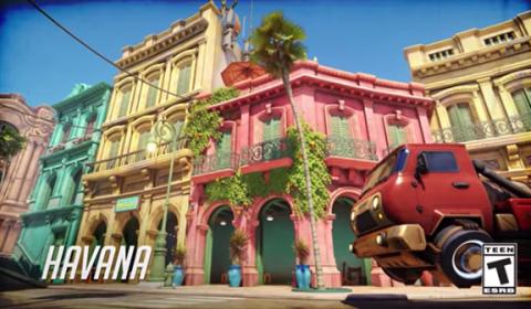 Overwatch เปิดตัวแผนที่ Escort Map ใหม่ Havana มาพร้อมบรรยากาศสดใสในเมืองคิวบา