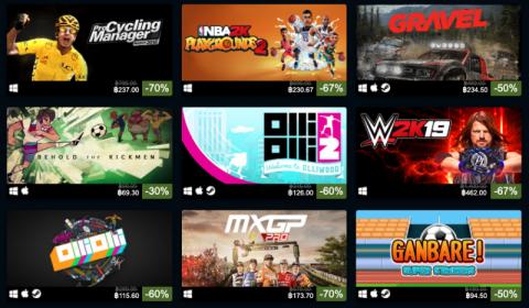 [Game On Sale] มหกรรมลดราคาเกมกีฬา Sports Sale บน Steam ลดสูงสุด 80%