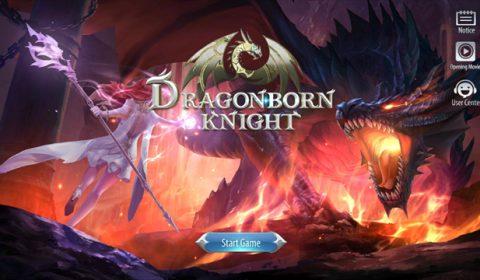 (รีวิวเกมมือถือ) Dragonborn Knight ศึกเกม RPG ของเหล่านักล่ามังกร