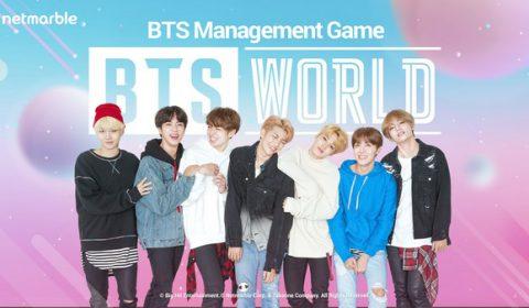 เกม BTS WORLD ยอดดาวน์โหลดอันดับ 1 ในชาร์ตเกมฟรีของระบบ iOS ใน 33 ประเทศทั่วโลกภายในเพียง 14 ชั่วโมงแรก!!!