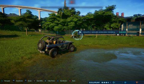 [Game On Sale] เกมสร้างเกาะไดโนเสาร์ Jurassic World Evolution ลด 70% เหลือ 408 บาท