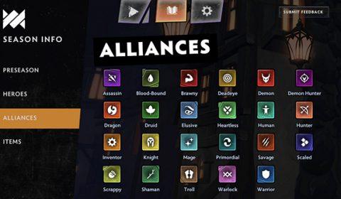 Dota Underlords เรียนรู้ระบบ Alliances จัดทีมให้มีคอมโบ เสริมแกร่งได้มากกว่า
