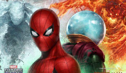 เมื่อสไปเดอร์-แมนต้องเผชิญกับการคุกคามครั้งใหม่ในการอัปเดต SPIDER-MAN : Far from Home ใน MARVEL Future Fight!