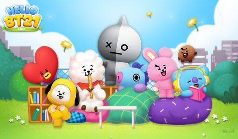 (รีวิวเกมมือถือ) LINE Hello BT21 เกมมาสคอตสุดน่ารักจากวง BTS