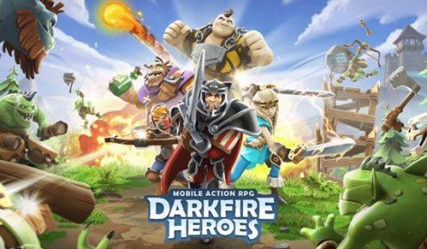 (รีวิวเกมมือถือ) Darkfire Heroes เกม RPG ตะลุยแนวตั้งสุดมันส์!