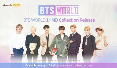 ใหม่ล่าสุด! สินค้าคอลเลคชั่นสุดพิเศษจาก BTS WORLD เริ่มวางจัดจำหน่ายทาง เน็ตมาร์เบิ้ลสโตร์แล้วตั้งแต่วันที่ 29 สิงหาคมนี้เป็นต้นไป ห้ามพลาด!