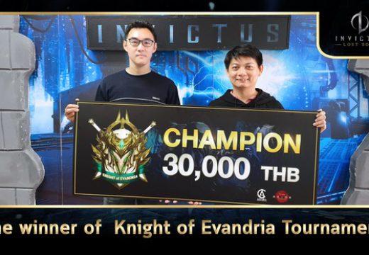 บทสัมภาษณ์สุดพิเศษจาก 3 ผู้ชนะในศึก Knight of Evandria Tournament ของ เกม INVICTUS: Lost Soul
