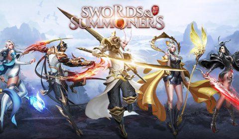 เกมส์มือถือใหม่ Swords & Summoners เปิดให้เล่นแล้ววันนี้