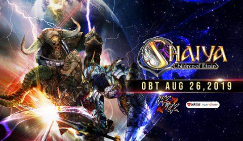 SHAIYA ที่สุดแห่งเกม MMORPG แนว PVP เปิด OBT แล้ววันนี้!