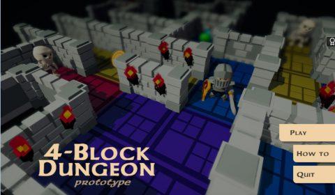 [PC]ลองหรือยัง 4-Block Dungeon เกมเรียงบล็อคแนว RPG ที่ทำให้การเล่นเร้าใจยิ่งขึ้น!