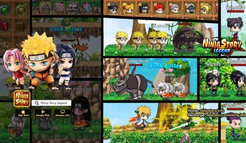 [รีวิวเกมมือถือ]ศึกชิงสุดยอดตระกูลนินจา Ninja Story Legend