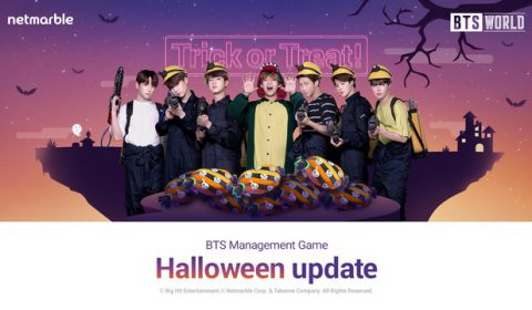 BTS WORLD อัปเดตใหม่เนื่องในวันฮาโลวีน ต้อนรับวันสุดหลอนพร้อมกัน 18 ตุลาคมนี้!