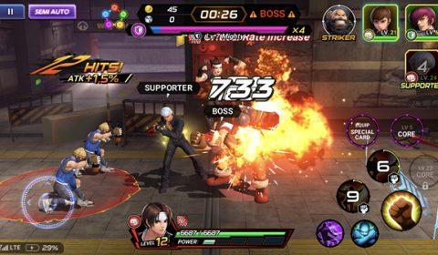 The King of Fighters ALLSTAR ตามล่าหา Soul ปลด Limit Break เพิ่มเลเวลสูงสุดให้ตัวละคร