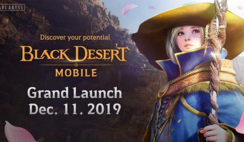 Black Desert Mobile เตรียมเปิดตัวอย่างเป็นทางการทั่วโลก ในเดือนธันวาคม 2019 นี้ (รวมถึงประเทศไทย)