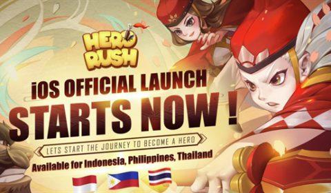 (รีวิวเกมมือถือ) Hero Rush เกมจอมยุทธ์สไตล์ Rogue-Like ผสมเกมแนวยานยิง!