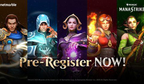 พร้อมเปิดลงทะเบียนล่วงหน้าแล้ว เกมมือถือใหม่ล่าสุดจากเน็ตมาร์เบิ้ล Magic: ManaStrike เกมวางแผนเชิงกลยุทธ์แบบเรียลไทม์ที่คุณไม่ควรพลาด!