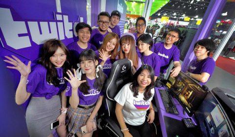 ทวิช ประเทศไทย โชว์ Live Streaming ของสตรีมเมอร์ชื่อดัง ในงาน Thailand Game Expo by AIS eSport 2020