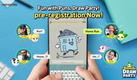 ขอเชิญร่วมปาร์ตี้แสนสนุกไปกับเกมวาดรูปทายใจสุดหรรษา กับผลงานใหม่ล่าสุดจากเน็ตมาร์เบิ้ลอย่างเกม KOONGYA Draw Party