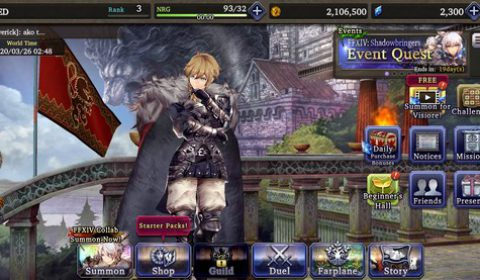War of the visions Final Fantasy Brave Exvius เกมส์มือถือใหม่จากซีรีย์ FF Tactic เนื้อเรื่องเข้ม ระบบแน่น พร้อมให้มันส์แล้วทั้ง iOS และ Android