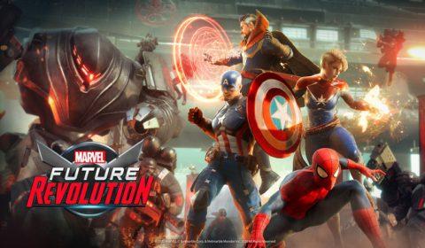 บริษัทเน็ตมาร์เบิ้ลและมาร์เวลร่วมกันเปิดประตูสู่อนาคต ด้วยเกมมือถือ RPG ใหม่ล่าสุดอย่างเกม MARVEL Future Revolution