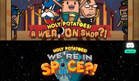 [รีวิวเกม PC] แนะนำเกมตระกูลมันฝรั่งสุดเด็ด Holy Potatoes! A Weapon Shop!? / We're in Space?!
