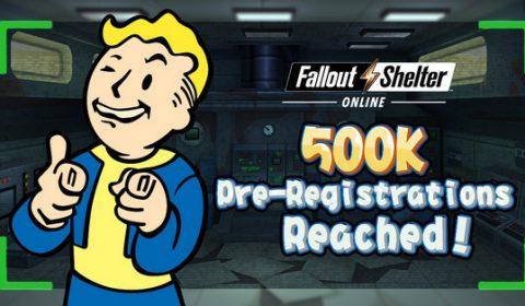 กระแสแรง Fallout Shelter Online ยอดผู้ลงทะเบียนล่วงหน้าในเอเชียทะลุ 500,000 คน