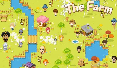 (รีวิวเกมมือถือ) The Farm เกมเจ้าหญิงทำฟาร์มภาพ Pixel สุดน่ารัก