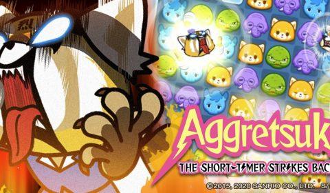 (รีวิวเกมมือถือ) Aggretsuko เกมพัซเซิลจากอนิเมะ Netflix มุมมองแนวตั้ง