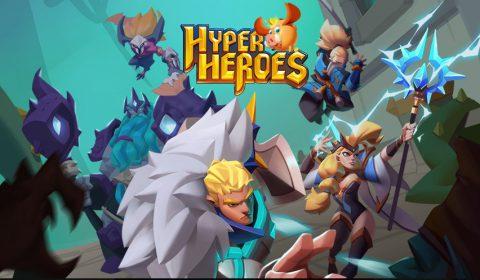 (รีวิวเกมมือถือ) Hyper Heroes: Dungeon Rush เกม IDLE แนวตั้ง ตัวละครแฟนตาซีภาพน่ารัก