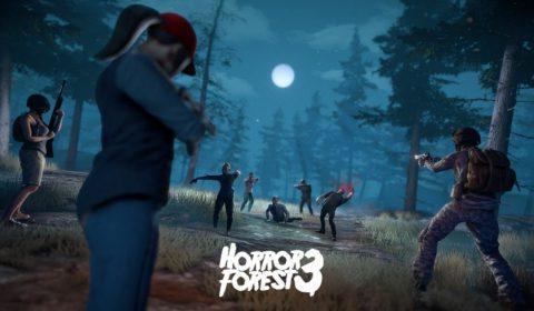 (รีวิวเกมมือถือ) Horror Forest 3 เอาตัวรอดในโลกซอมบี้ฉบับ MMO Openworld