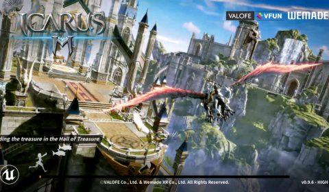 (รีวิวเกมมือถือ) Icarus M : Riders of Icarus เกม MMORPG ภาพสวยทะยานฟ้า ทดสอบก่อนเล่นไทย