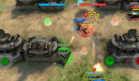 สงครามรถถังบนมือถือ Battle Tank2 สมรภูมิ 3VS3 พร้อมเปิดให้ดาวน์โหลดแล้ววันนี้บนระบบ Android