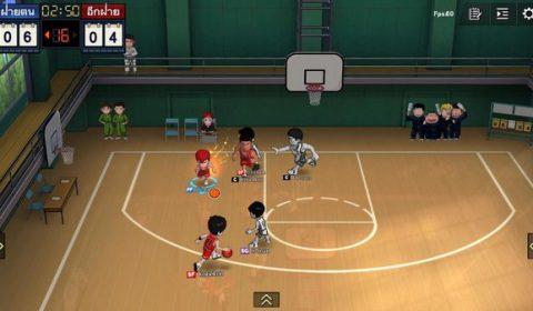Slam Dunk เกมส์มือถือใหม่แนวบาสเกตบอล 3VS3 พร้อมเปิดให้ลงทะเบียนล่วงหน้าทั่วโลกแล้ววันนี้ทั้ง iOS และ Android