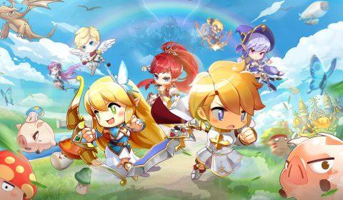 (รีวิวเกมมือถือ) Rainbow Story เกม Side-Scrolling ภาพสุดน่ารักและมีออโต้