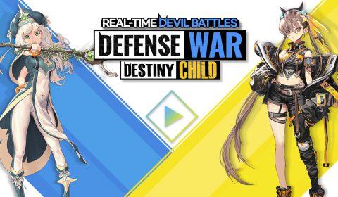 (รีวิวเกมมือถือ) Destiny Child : Defense War ภาคแยกในเกมสไตล์กึ่ง Tower Defense